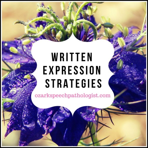 writtenexpressionstrategies